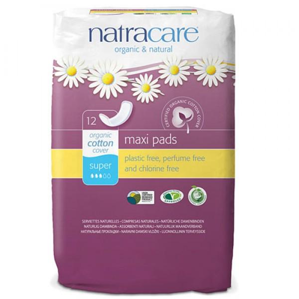 Natracare Natural Maxi Pads - Super