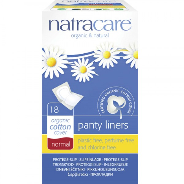 Natracare Wrapped Panty Liners - Normal
