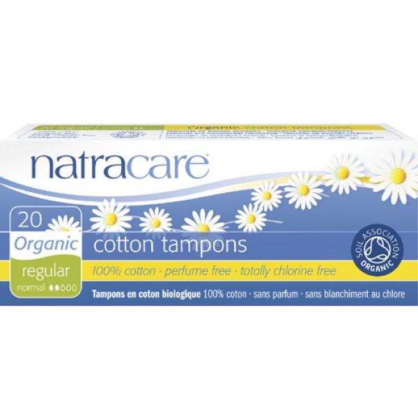 Natracare Organic Cotton Tampons - Regular