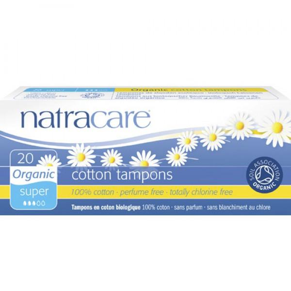 Natracare Organic Cotton Tampons - Super