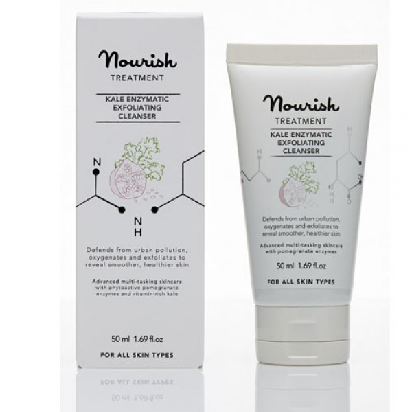 Nourish Kale Enzymatic Exfoliating Cleanser