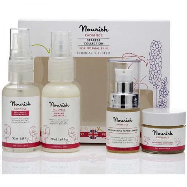 Nourish Radiance Normal Skin Starter Collection