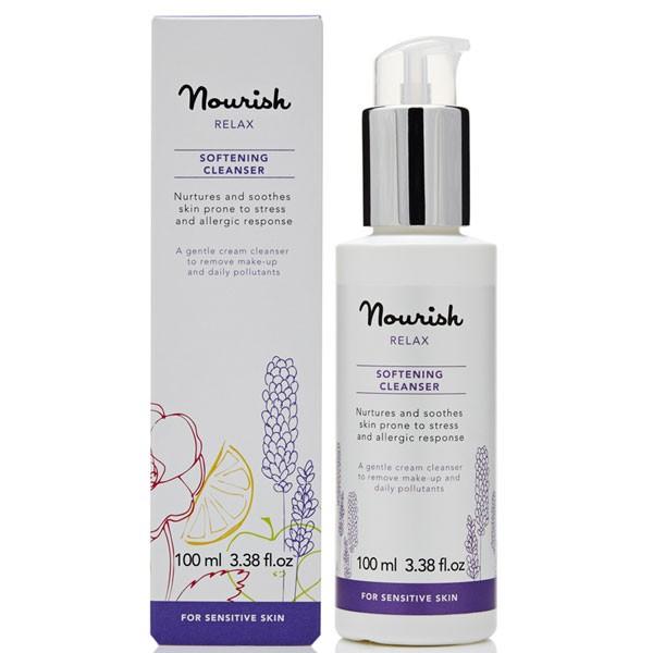 Nourish Relax Softening Cleanser for Sensitive Skin