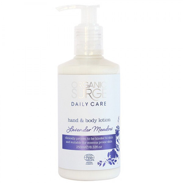 Organic Surge Lavender Meadow Hand & Body Lotion