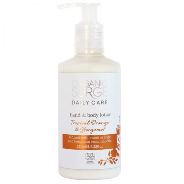 Organic Surge Tropical Bergamot Hand & Body Lotion