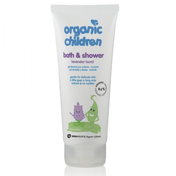 Organic Children Bath & Shower - Lavender Burst