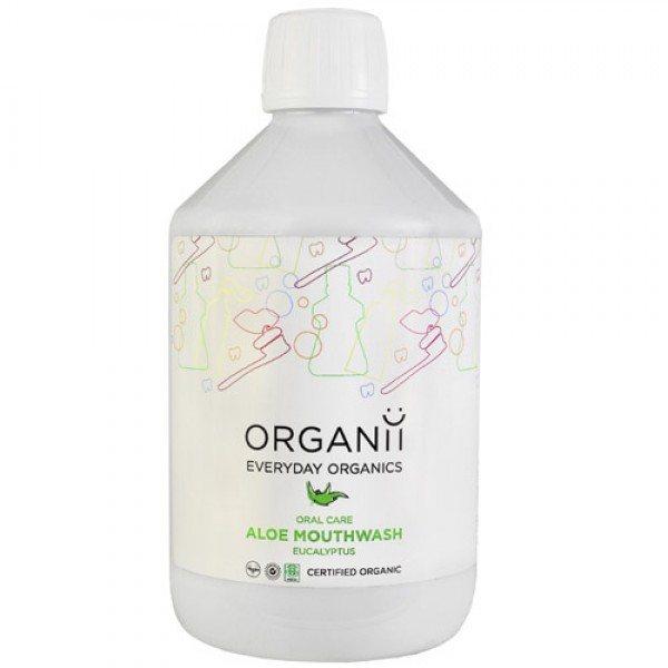 Organii Aloe Mouthwash - Eucalyptus