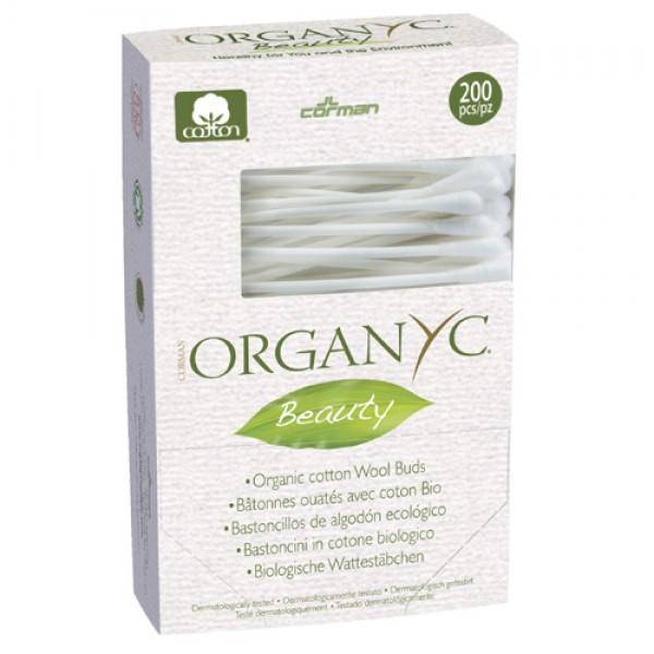 Organyc Cotton Wool Buds - 200 pack