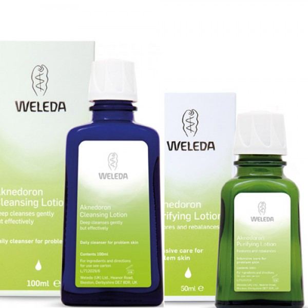 Aknedoron Purifying + Cleansing Lotion Pack