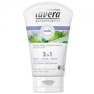 Lavera 3 in 1 Wash, Scrub, Mask