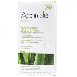 Acorelle Body Waxing Strips