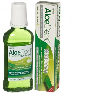 Aloe Dent Toothpaste + Mouthwash Bundle