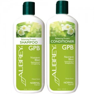 Aubrey GPB Balancing Protein Shampoo & Conditioner Bundle