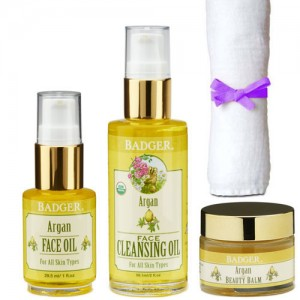 Badger Argan Skincare Set