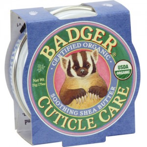 Badger Cuticle Care Balm