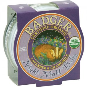 Badger Night Night Balm