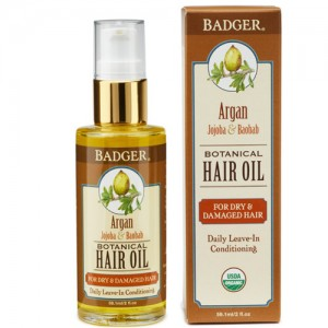 Badger Argan Hair OIl for Dry & Damaged Hair