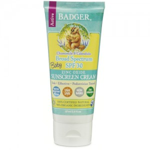 Badger Baby Sunscreen SPF30