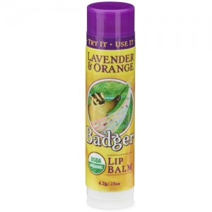 Badger Lavender & Orange Badger Lip Balm Stick