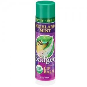 Highland Mint Badger Lip Balm Stick