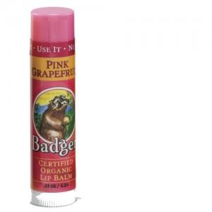 Pink Grapefruit Badger Lip Balm Stick