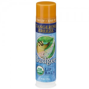 Tangerine Breeze Badger Lip Balm Stick