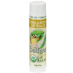 Unscented Badger Lip Balm Stick
