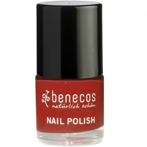 Benecos Nail Polish in Vintage Red - 5 Free formula