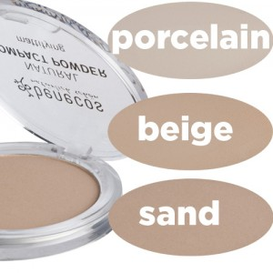 Benecos Compact Powder - in 3 shades