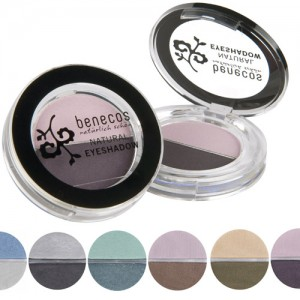 Benecos Natural Duo Eyeshadow - in 6 shades