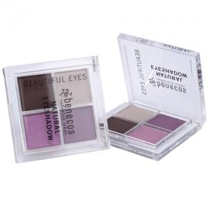 Benecos Natural Quattro Eyeshadow in Beautiful Eyes