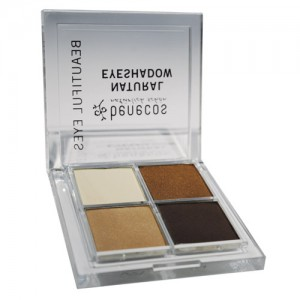 Benecos Natural Quattro Eye Shadow in Coffee & Cream