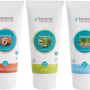 Benecos Shampoo in 3 fragrances