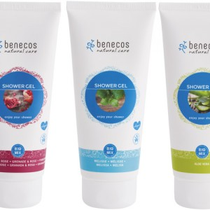 Benecos Shower Gel in 5 fragrances