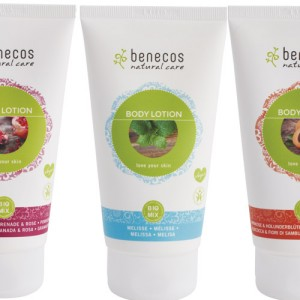 Benecos Body Lotion in 5 fragrances