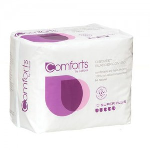 Comforts Super + Pads for bladder weakness