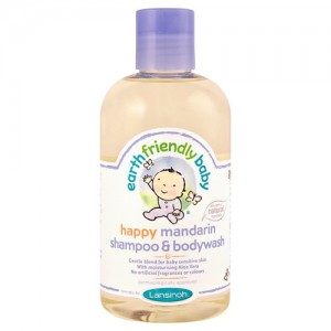 Earth Friendly Baby Happy Mandarin Shampoo and Body Wash