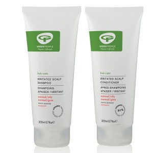 Green People Irritated Scalp Shampoo + Conditioner Bundle