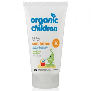 Green People SPF 30 for kids with No Scent