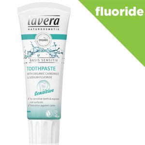Lavera Sensitive Fluoride Toothpaste
