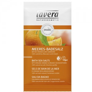 Lavera Revitalising Orange Bath Sea Salts