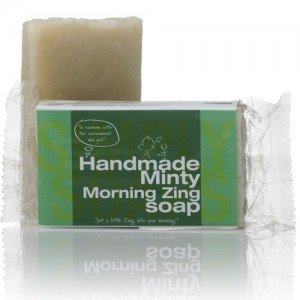 Handmade Soap Minty Zing