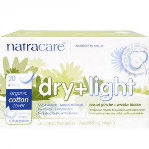 Natracare Dry + Light Incontinence Pads