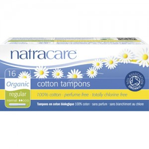 Natracare Applicator Tampons (Regular)