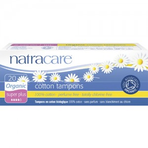 Natracare  Organic Cotton Tampons - Super Plus