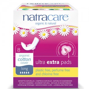 Natracare Ultra Extra Pads Long with Wings