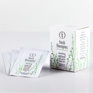 Fresh Therapies Nourishing Natural Nail Polish Remover Wipes