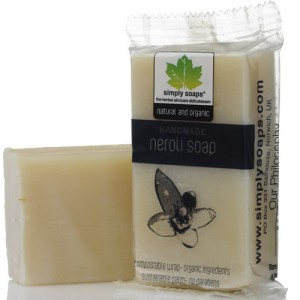 neroli soap by simply soaps