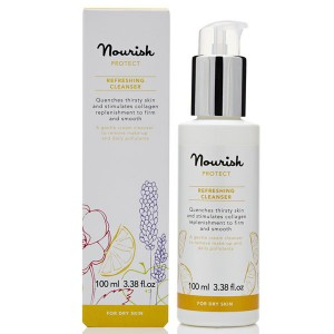 Nourish Protect Refreshing Cleanser for dry skin