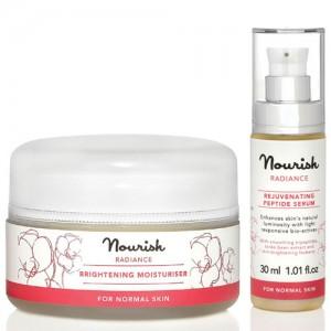 Nourish Radiance Brightening Moisturiser & Peptide Serum